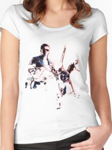 Terminator 2 Judgement Day (Works best with Black) Women's Fitted Scoop T-Shirt