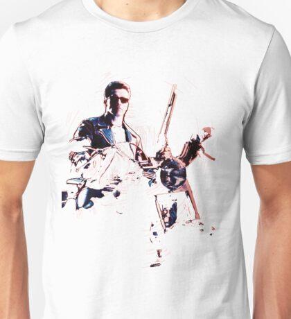 Terminator 2 Judgement Day (Works best with Black) Unisex T-Shirt