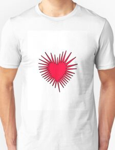 RED HEART BURST T-Shirt