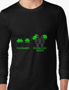 Personal Space Invaders (GG) Long Sleeve T-Shirt