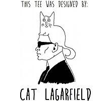 Cat Lagarfield  Photographic Print