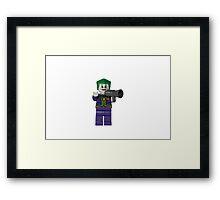 LEGO Joker Framed Print