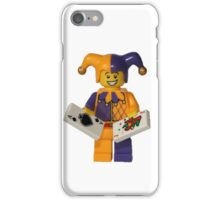 LEGO Jester with cards iPhone Case/Skin