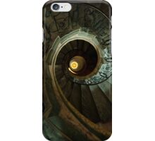 Spiral staircase with golden eye iPhone Case/Skin