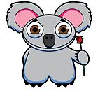 Kind Koala by abcanimals