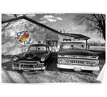 Snow Cap Chevys  Poster