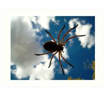 Arachnid Invasion! Art Print