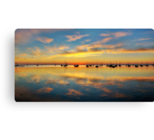 Panoramic Sunrise Canvas Print