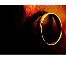 One Ring. Photographic Print
