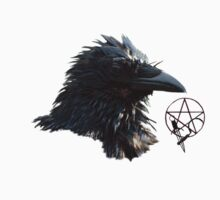 """Raven Lord""  T-Shirt by NaturePrints"