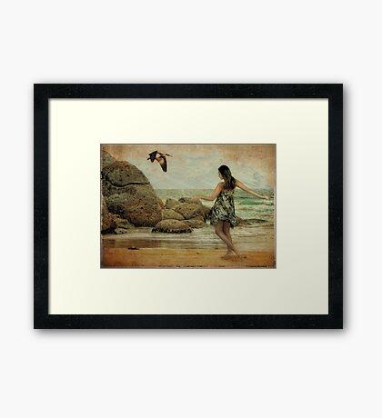 Island Girl Framed Print