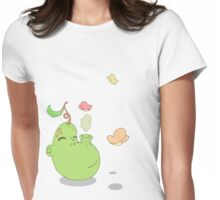 sillypear Womens Fitted T-Shirt