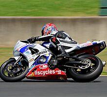 Yamaha Motorcycle by Gino Iori