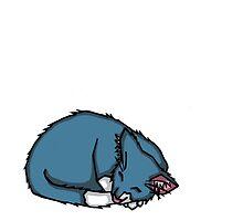 Sleepy Kitty by Lily Montford