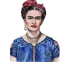 Frida Kahlo Eyebrow Game by nnuriasays