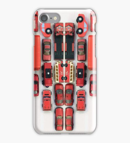 day 44: red week (toy heart) iPhone Case/Skin