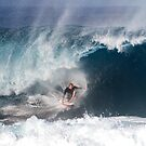 John John Florence at Pipeline 2015 .2 by Alex Preiss