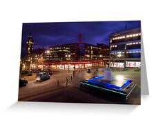 Barker's Pool, Sheffield Greeting Card