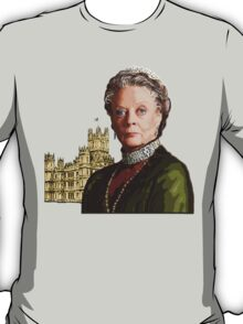 Lady Violet Crawley, Dowager Countess - Downton Abbey T-Shirt