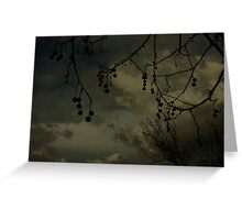 Darksome Greeting Card