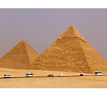 the great pyramids of giza EYGPT Photographic Print