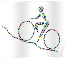Cycling is a sport of the open road. Poster