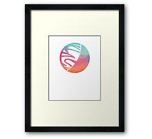 Space Art – Alien Planet Framed Print