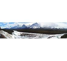 Icefields Panorama, Alberta Photographic Print