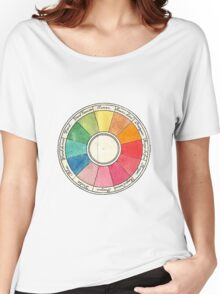 Colour wheel Women's Relaxed Fit T-Shirt