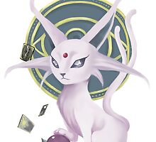 Espeon by Paintingpixel