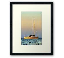 Mornington Sunset Framed Print