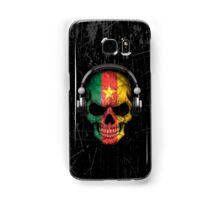 Dj Skull with Cameroon Flag Samsung Galaxy Case/Skin