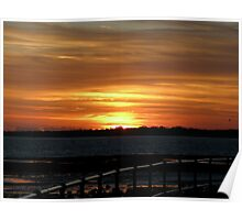 Sunset 2 16-10-08 Poster