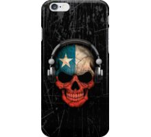 Dj Skull with Chilean Flag iPhone Case/Skin