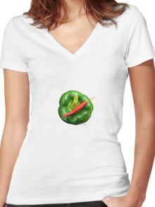 HOT Women's Fitted V-Neck T-Shirt