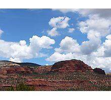 Red Rocks Photographic Print