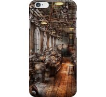 Machinist - A fully functioning machine shop  iPhone Case/Skin