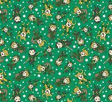 lots of lokis! by Lauren Gacek