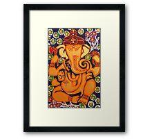 Ganesha- Elephant Power Framed Print