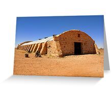 Woolshed - Cordillo Downs Station - NE South Australia Greeting Card