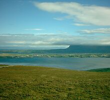 View of Benbulben by Alan Hogan