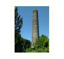 St.Kevin's Round Tower Art Print