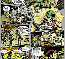 ACTION FORCE JUNGLE TERROR 10 COLOUR BY M.R.D. by morphfix