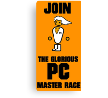 Join the PC Master Race Canvas Print
