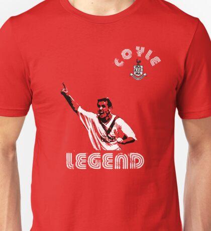 Airdrieonians legend Owen Coyle Unisex T-Shirt