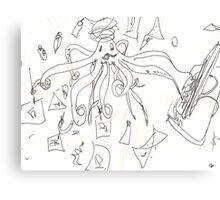 CHRISTMAS RUSH(C2012) Canvas Print