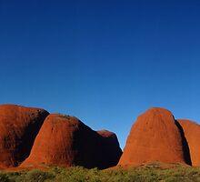 Kata Tjuta - The Olgas - Northern Teritory Australia by Paul Gilbert