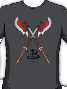 Buffy -- Scythes Crossed T-Shirt