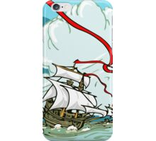 The Great Discoveries - Three Galleons Sailing iPhone Case/Skin