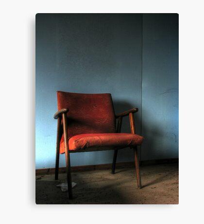 'The chair' Canvas Print